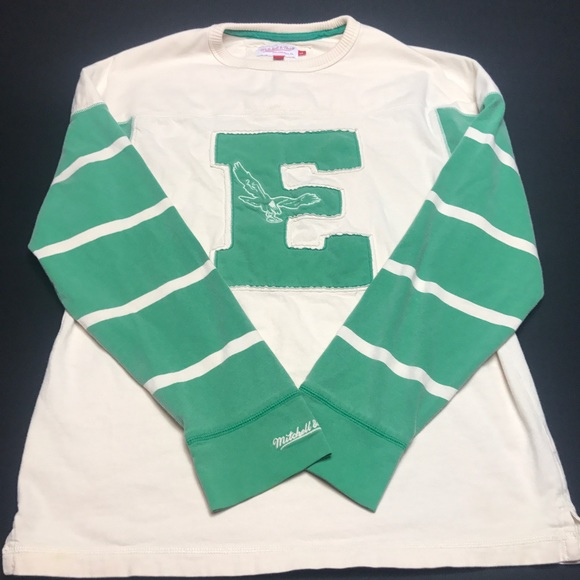 san francisco fa3d6 9e9ad Philadelphia Eagles Throwback Sweatshirt